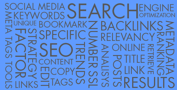 A list of SEO related terms.