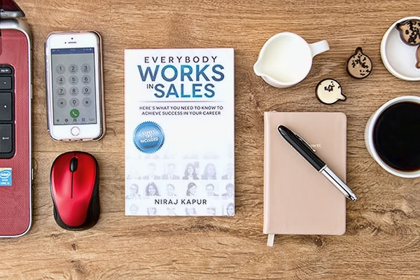 Everybody works in sales book image