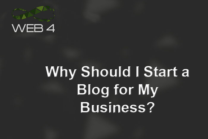 Why Should I Start a Blog for My Business?